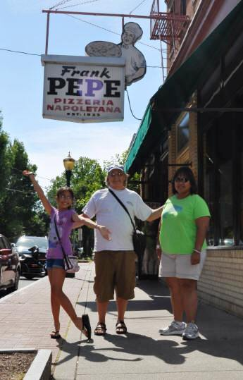 In front of Pepe's