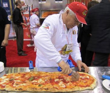 Making Pizza with Caputo at Pizza Expo 2013