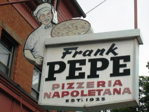 Pepe's sign from pizza therapy