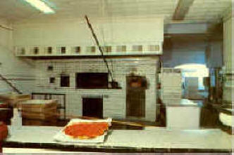 The Famous Coal Oven at Pepe's Pizzeria