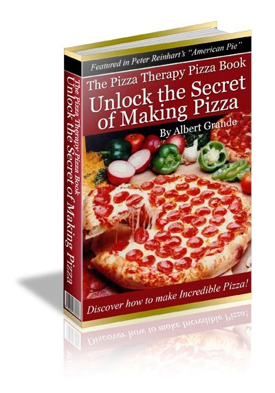 The Pizza therapy Pizza Book from pizzatherapy.com