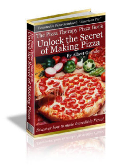 The Pizza therapy Pizzza Book by pizzatheerapy.com