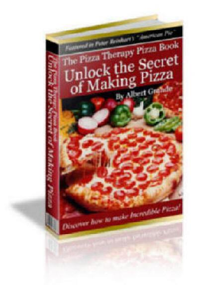 laim your opy of The Pizza Therapy Pizza Book