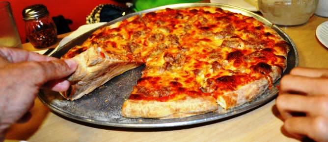 Zuppardi's Sausage Pizza Apizza