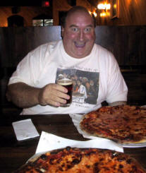 Big Jay at Modern Apizza, New Haven