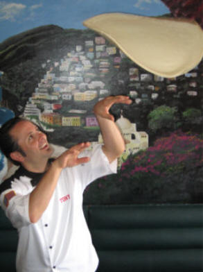 Tony Gemignani shows why he was 7 time World Pizza Tossing Champion