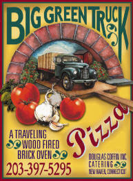 The Big Green Pizza Truck Poster!