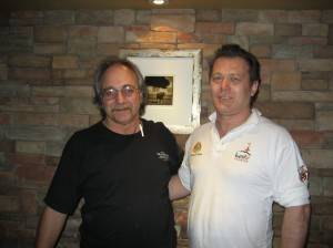 Albert Grande and Roberto Caporuscio at Keste's in New York City
