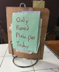 Only Round Pies
