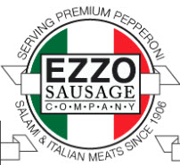 Ezzo Sausage and Pepperoni Logo