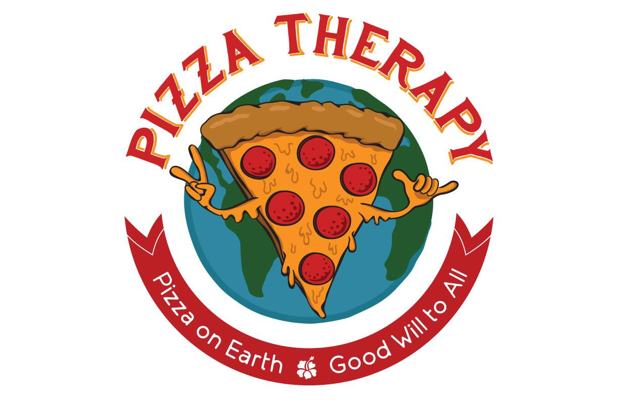 pizza therapy logo